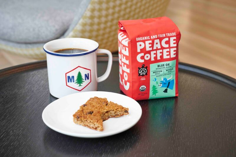 a cookie and the best medium roast coffee