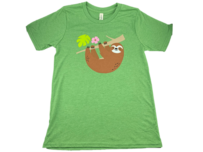 Sloth T-Shirt Colombia Single Origin