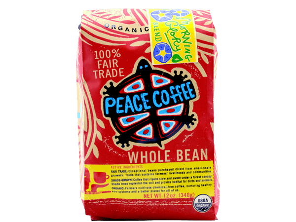 Morning Glory Light Roast Fair Trade Coffee Bag