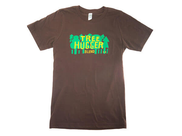Tree Hugger Blend Organic Cotton Bamboo t-shirt